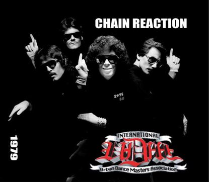 Picture of Chain Reaction Dance Group Poster Autographed